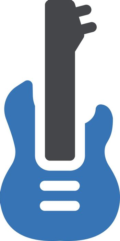 instrument vector glyph colour icon
