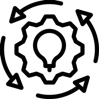 project vector thin line icon
