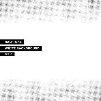Abstract halftone template low poly trendy white background with copy space. You can use for website, brochure, flyer, cover, banner, etc. Vector illustration