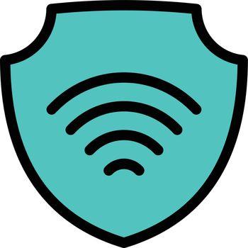 internet vector color line icon