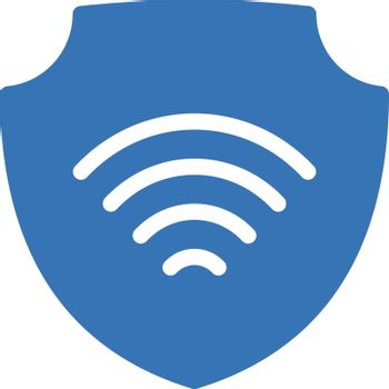 internet vector glyph color icon