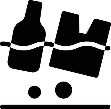pollution vector glyph flat icon