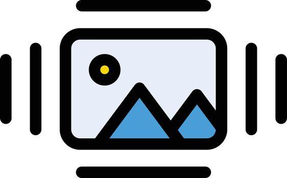 picture vector line colour icon