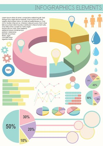 An infographics on a white background