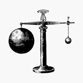 Balancing tool illustration vector