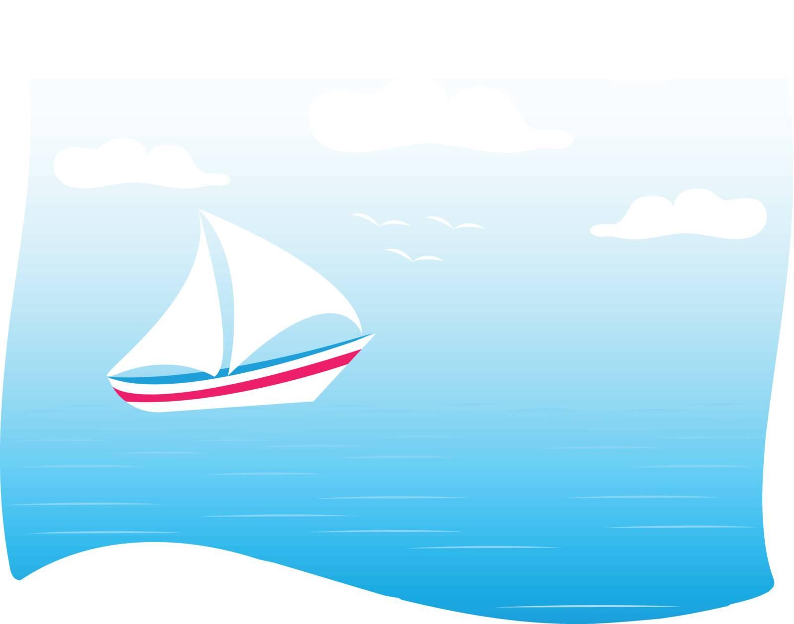 sea and yachts