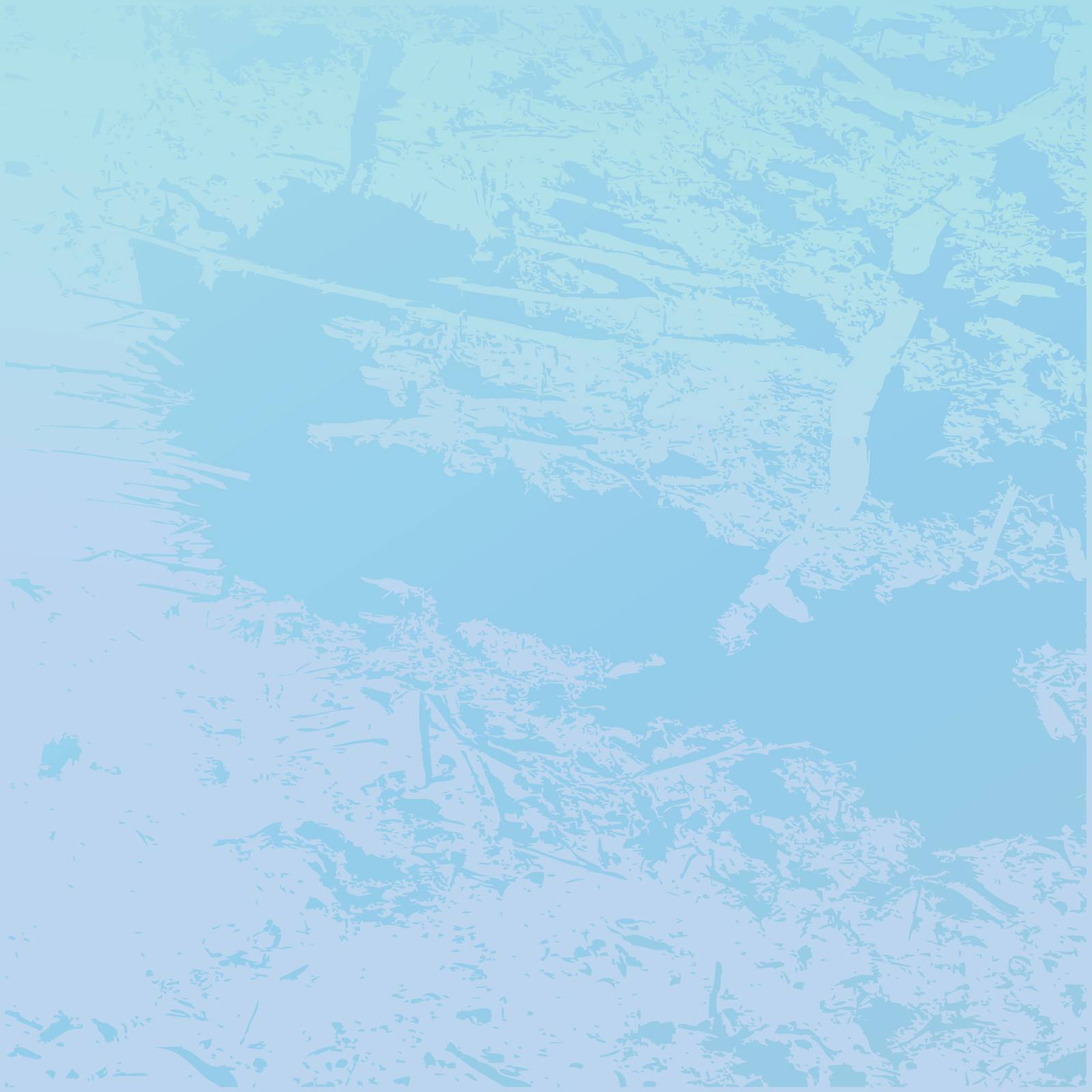 Backround image of a frozen glass, vector art
