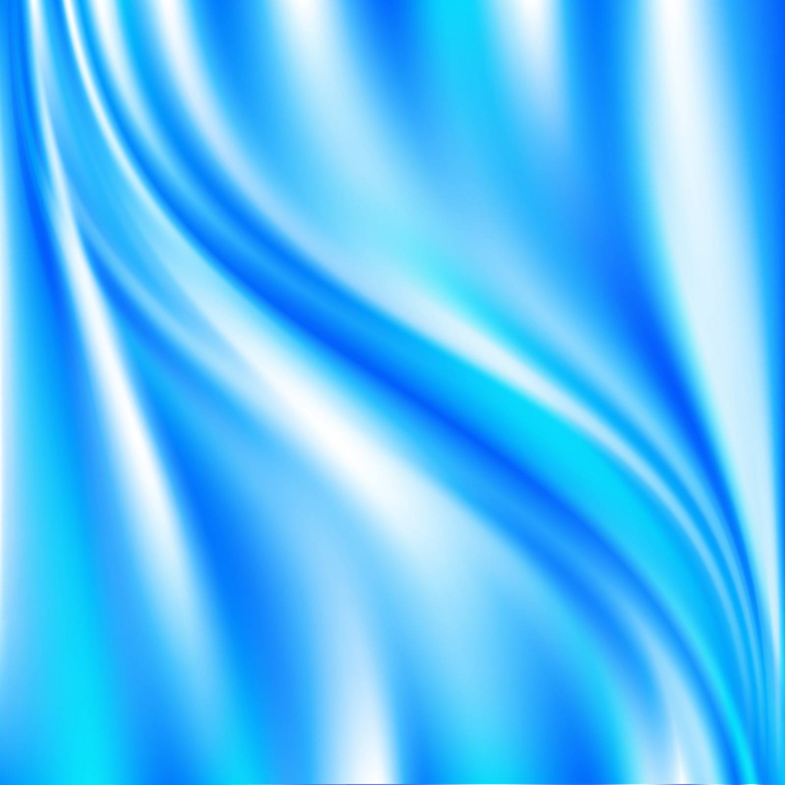 abstract blue drapery background