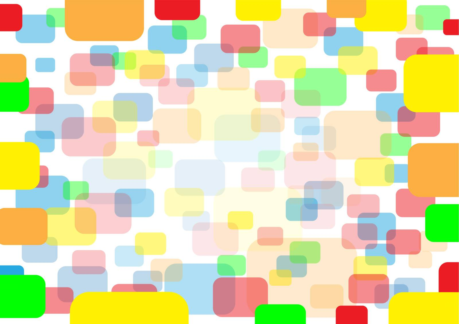 The rounded rectangular eps10 color background