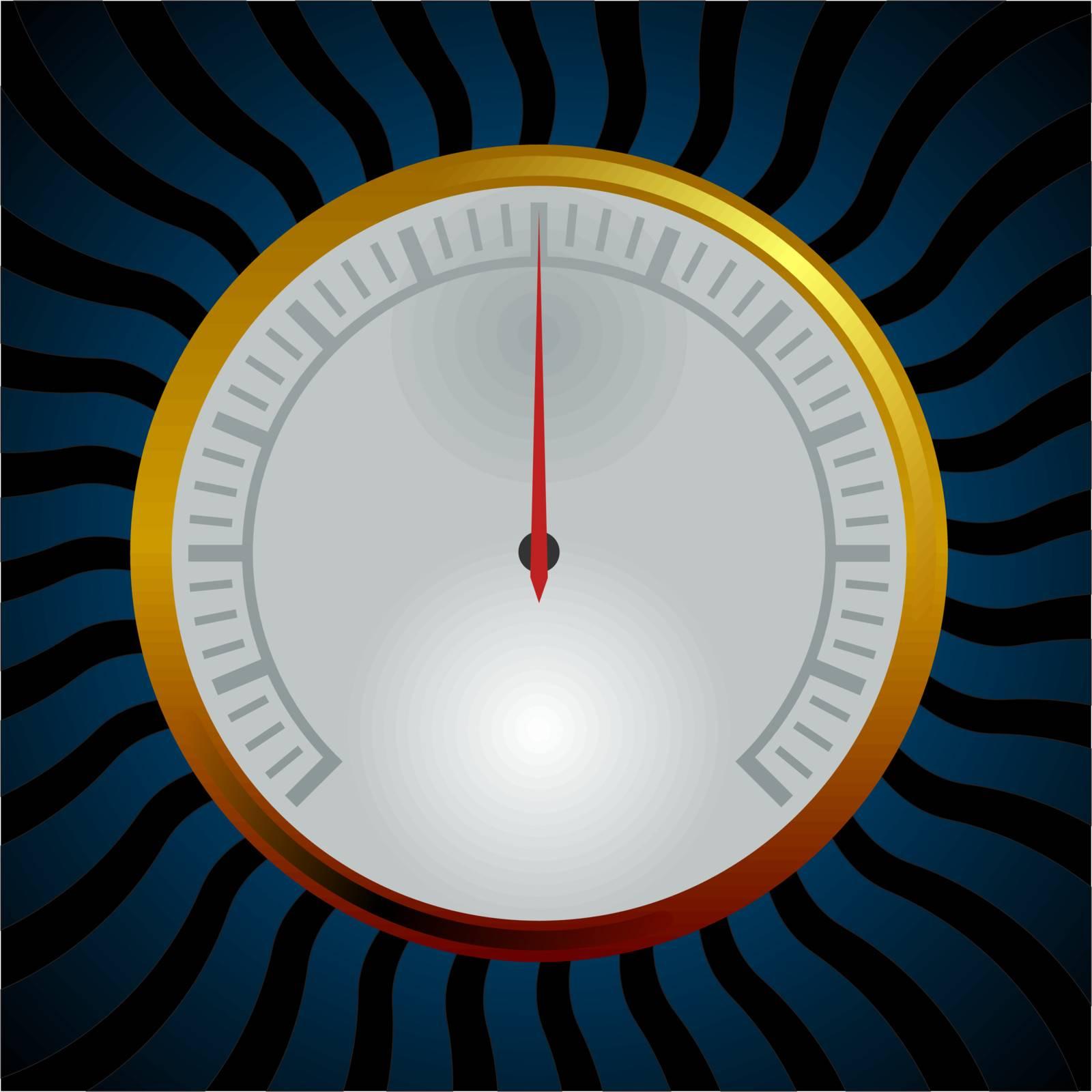 photo realistic Analog gauge