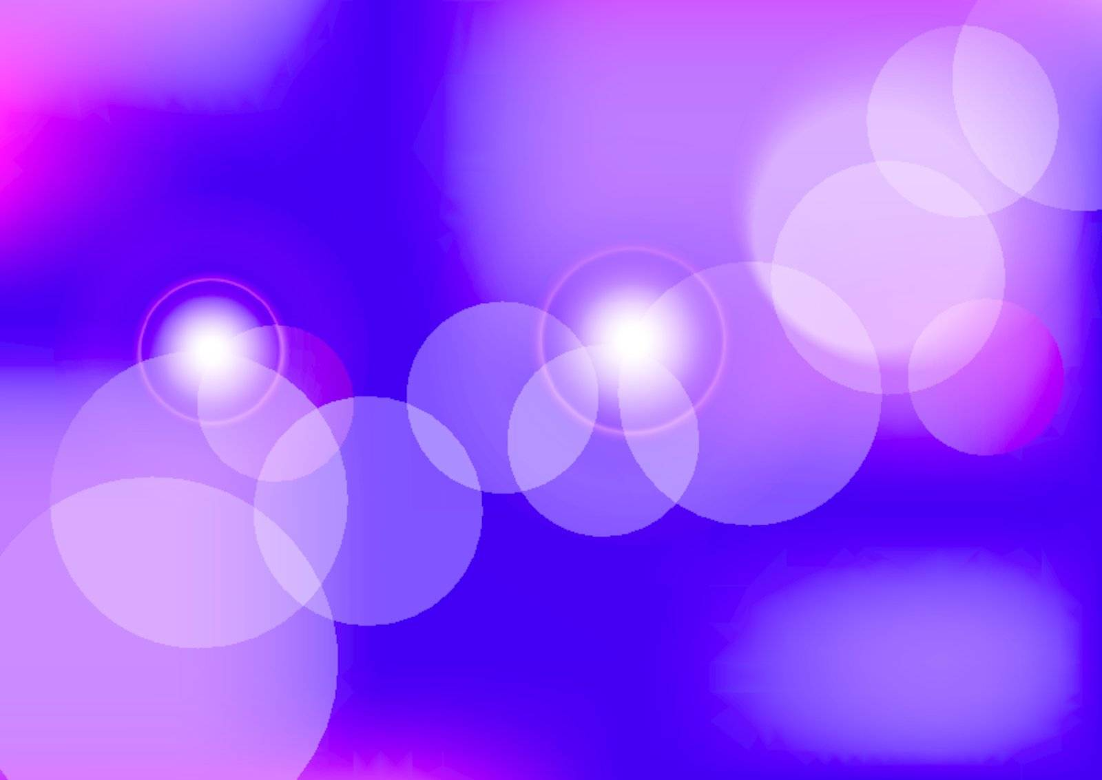 Abstract Background - Bokeh on Violet Background