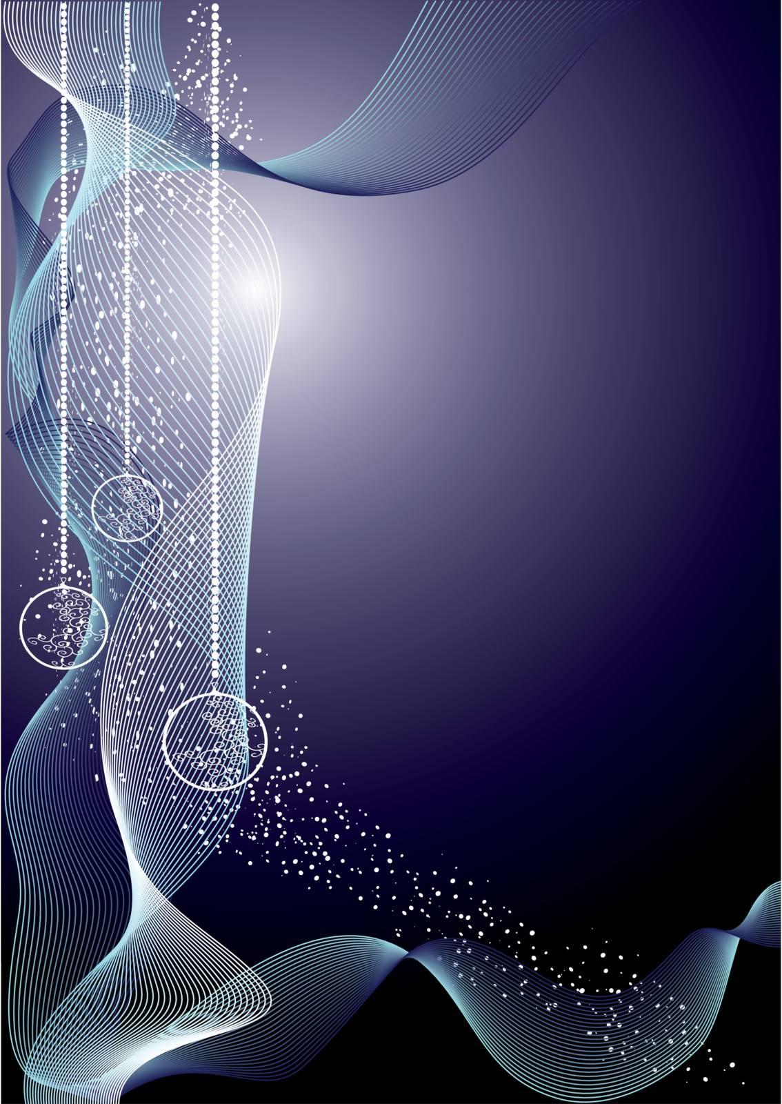 elegant christmas background decoration, vector illustration