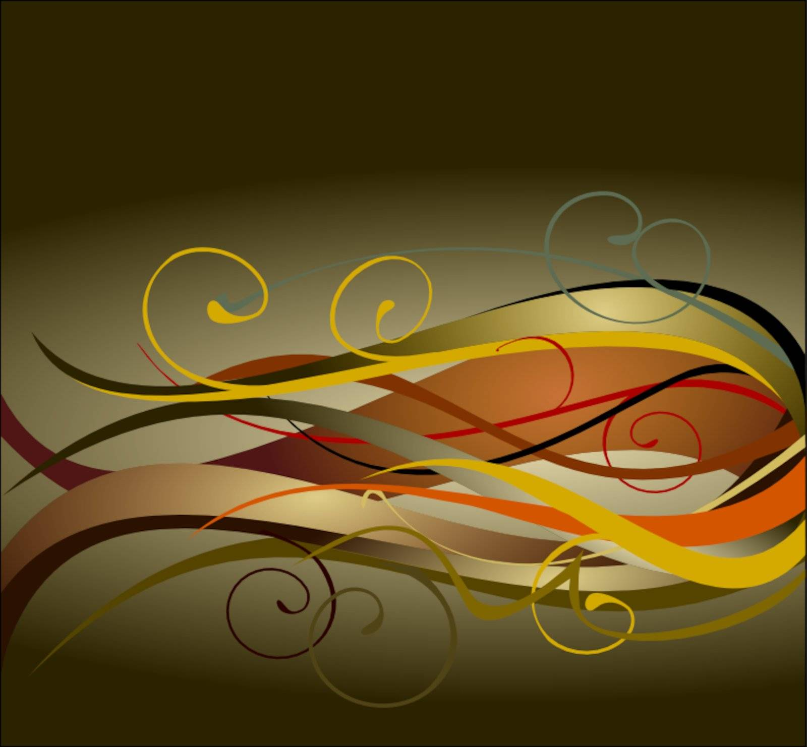 Background style color ornament flower