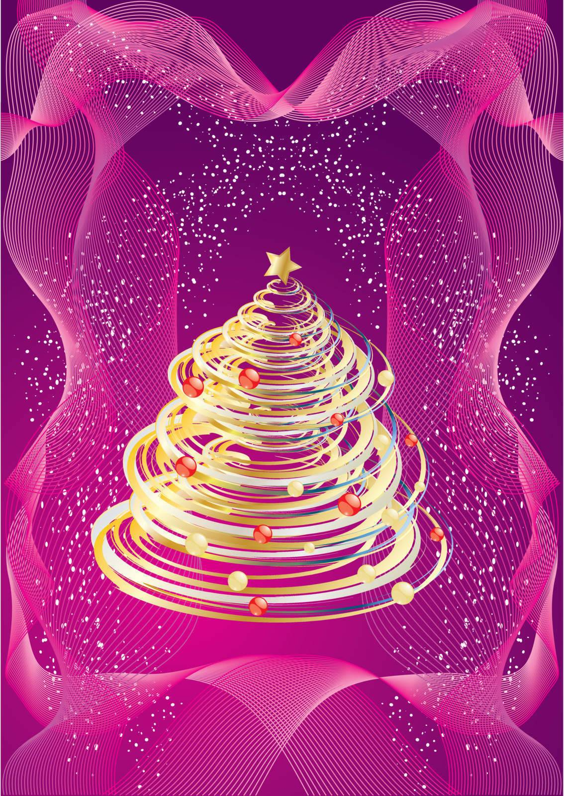 Christmas or New Year design, Vector illustration