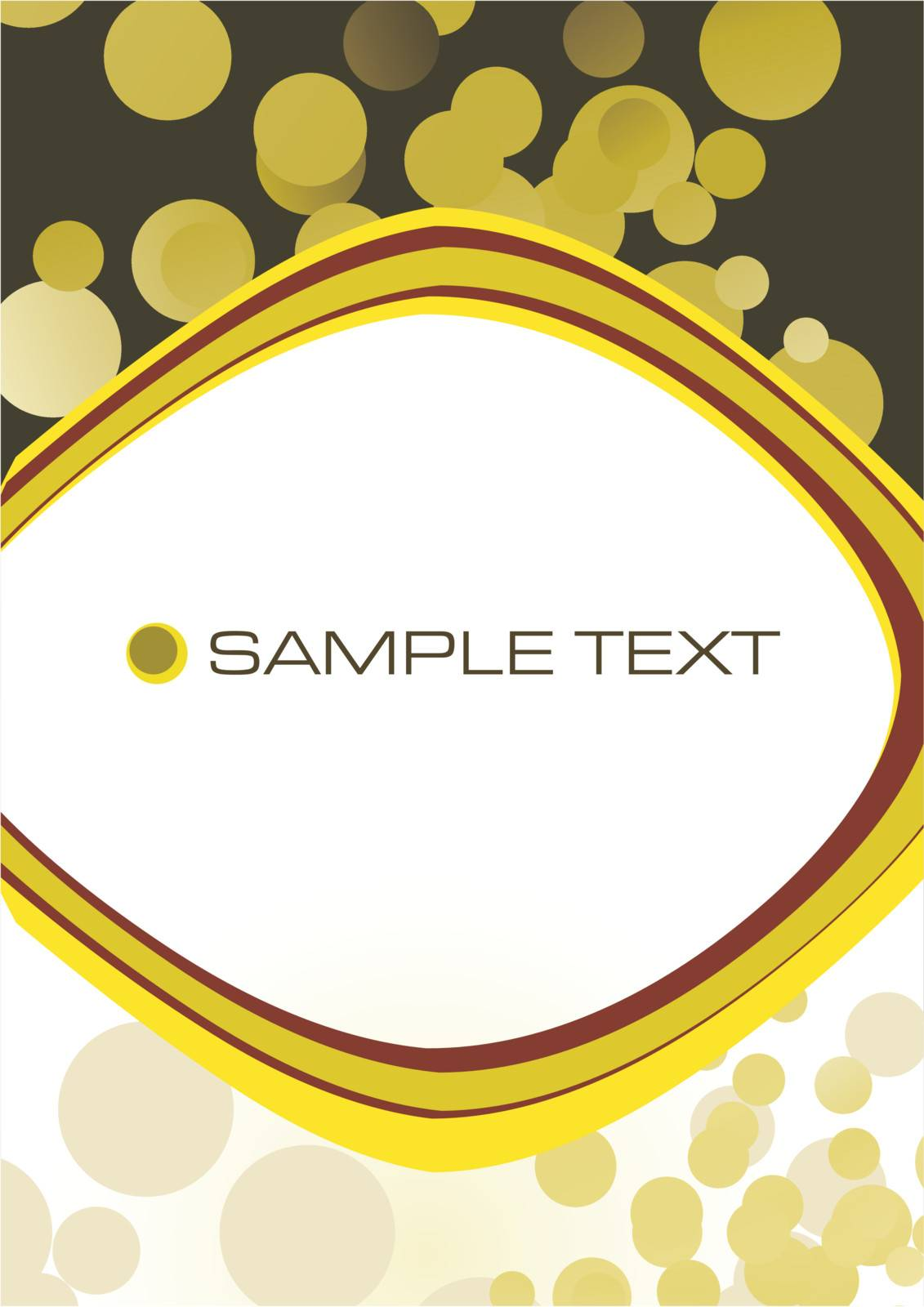 Modern business stationery background, vector illustration