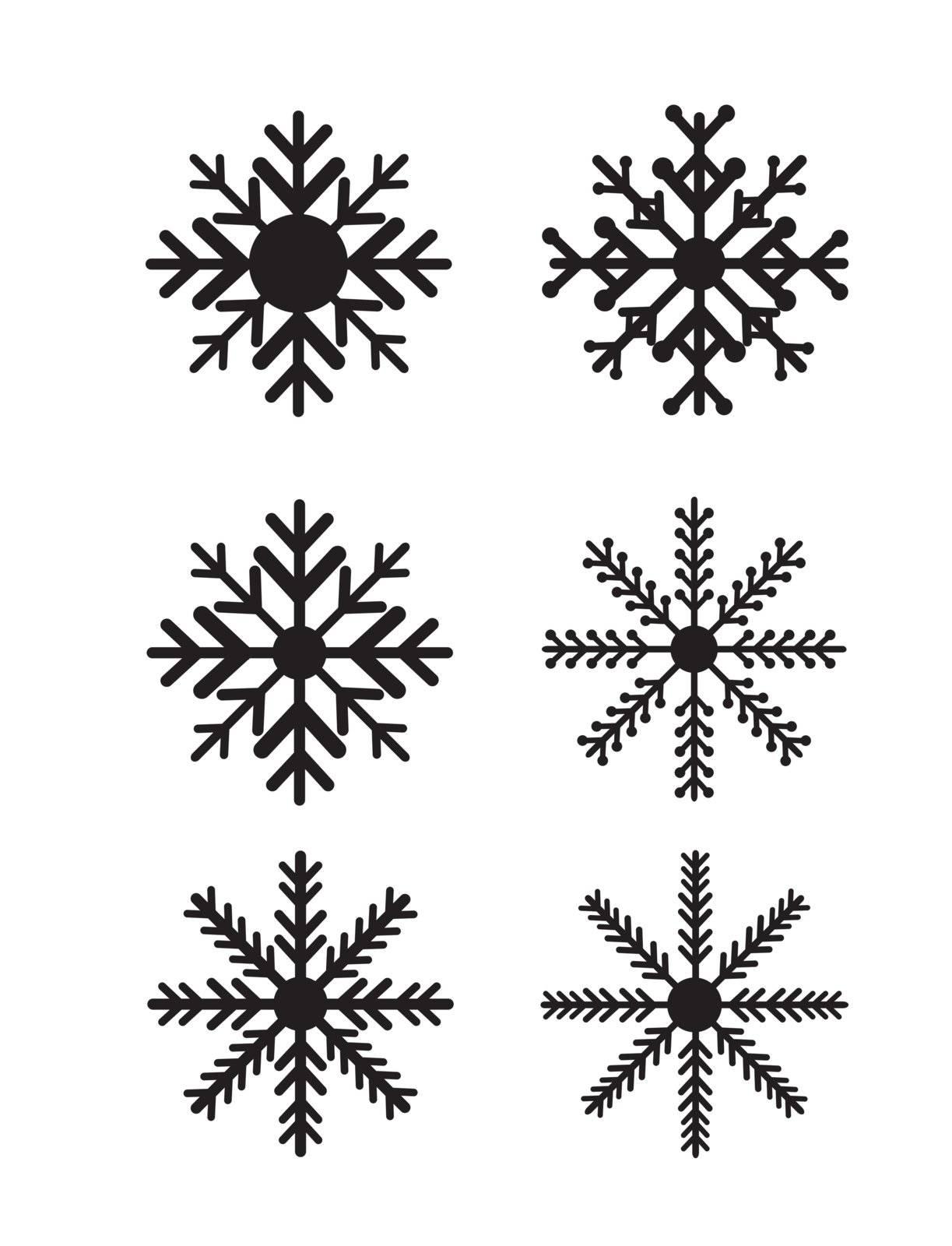 decorative background with black symbols