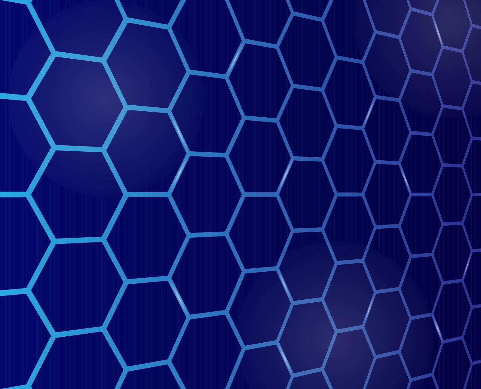 Seamless geometric pattern of intersecting lines creating hexagons. An ornament for texture, textiles and simple backgrounds is a seamless geometric pattern of intersecting lines forming hexagons. flat style