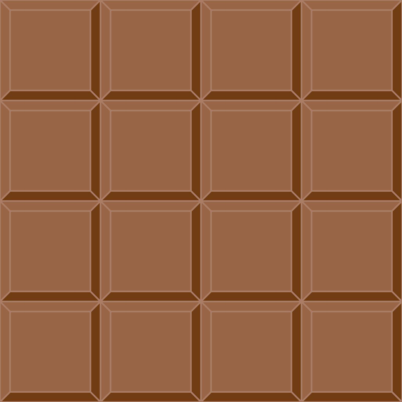 seamless background milk chocolate tile vector seamless delicious mouth watering chocolate bar by koksikoks