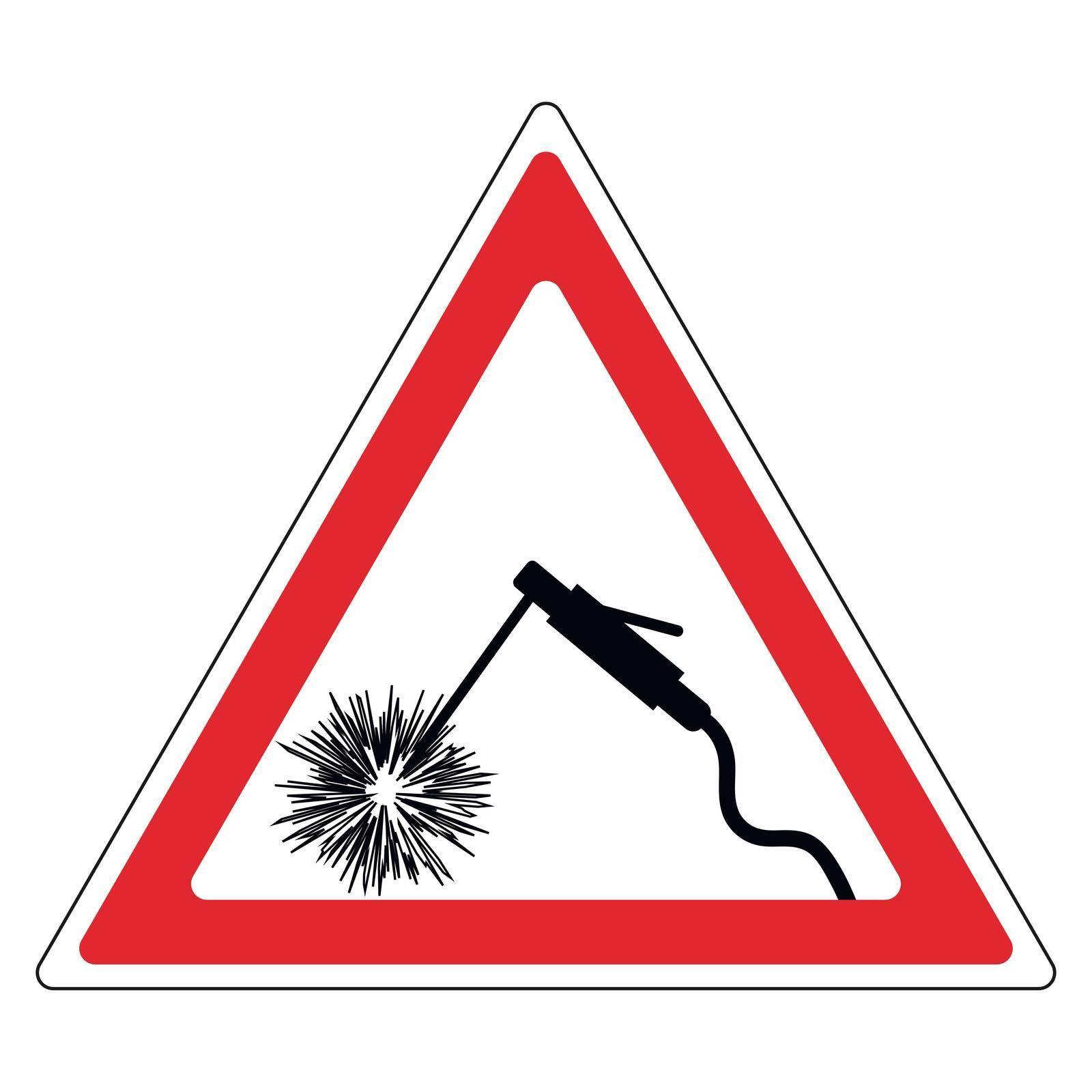 sign attention welding by koksikoks