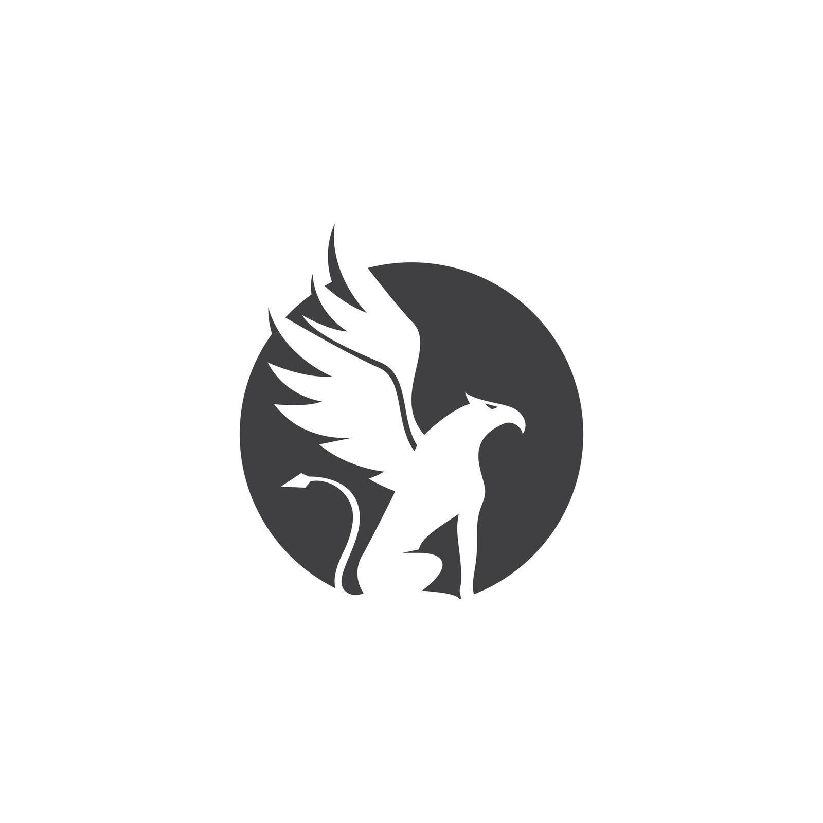 Griffin logo illustration vector design