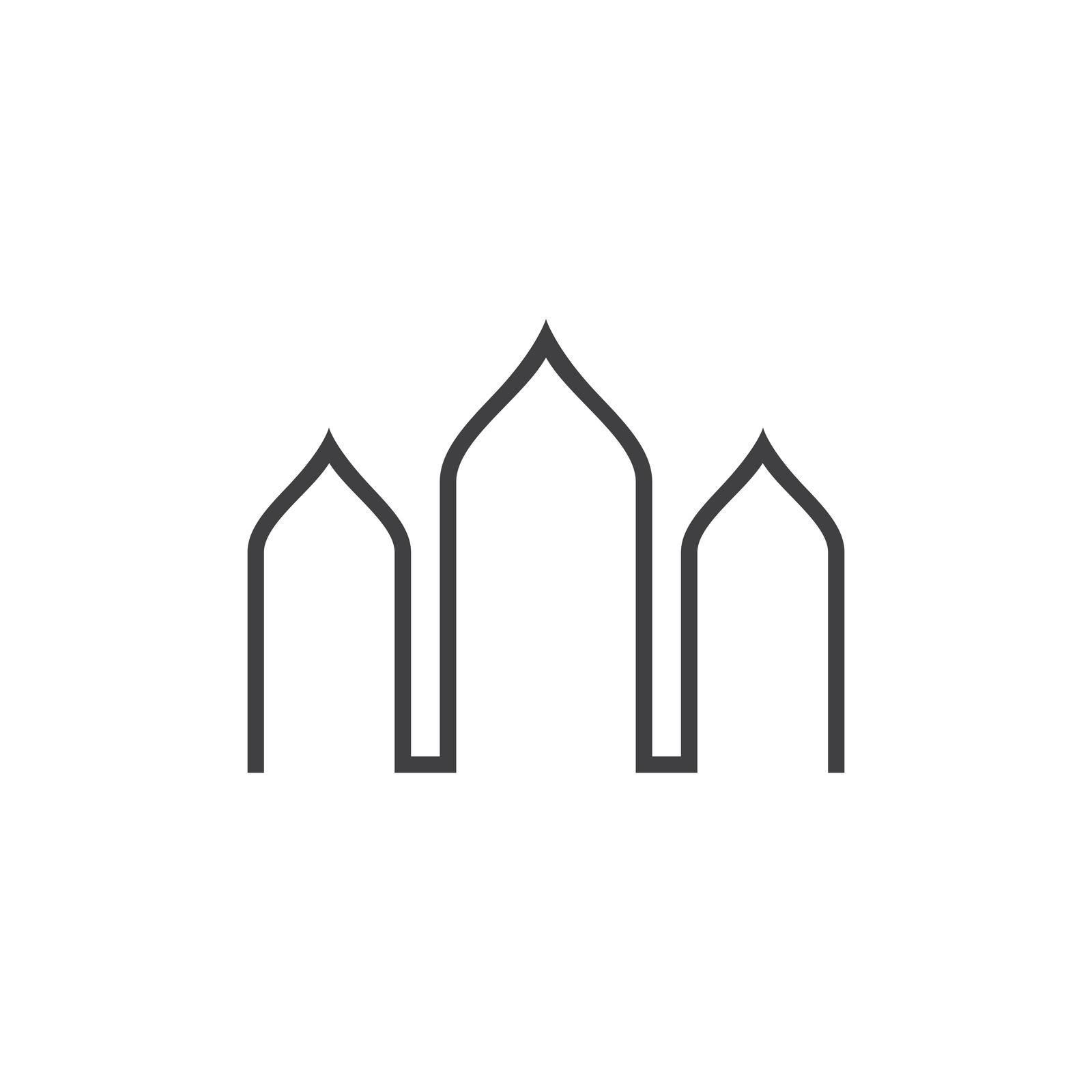 Islamic logo, Mosque,ramadhan kareem vector template