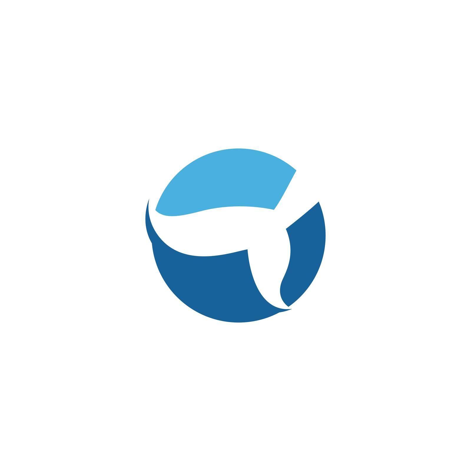 Mermaid illustration logo vector design