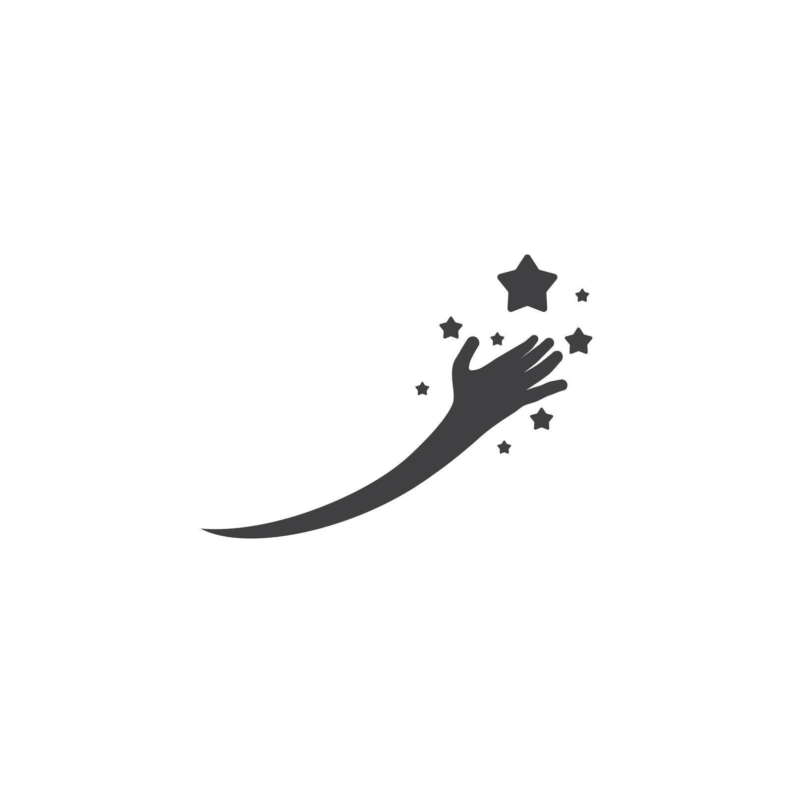 Dreams star logo vector design