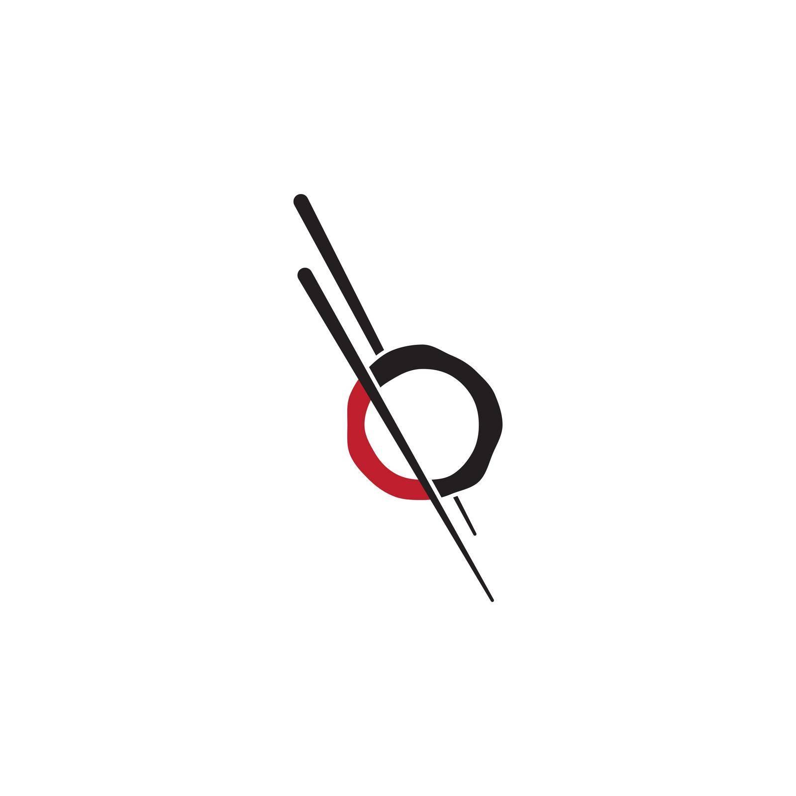 Sushi modern restaurant logo design