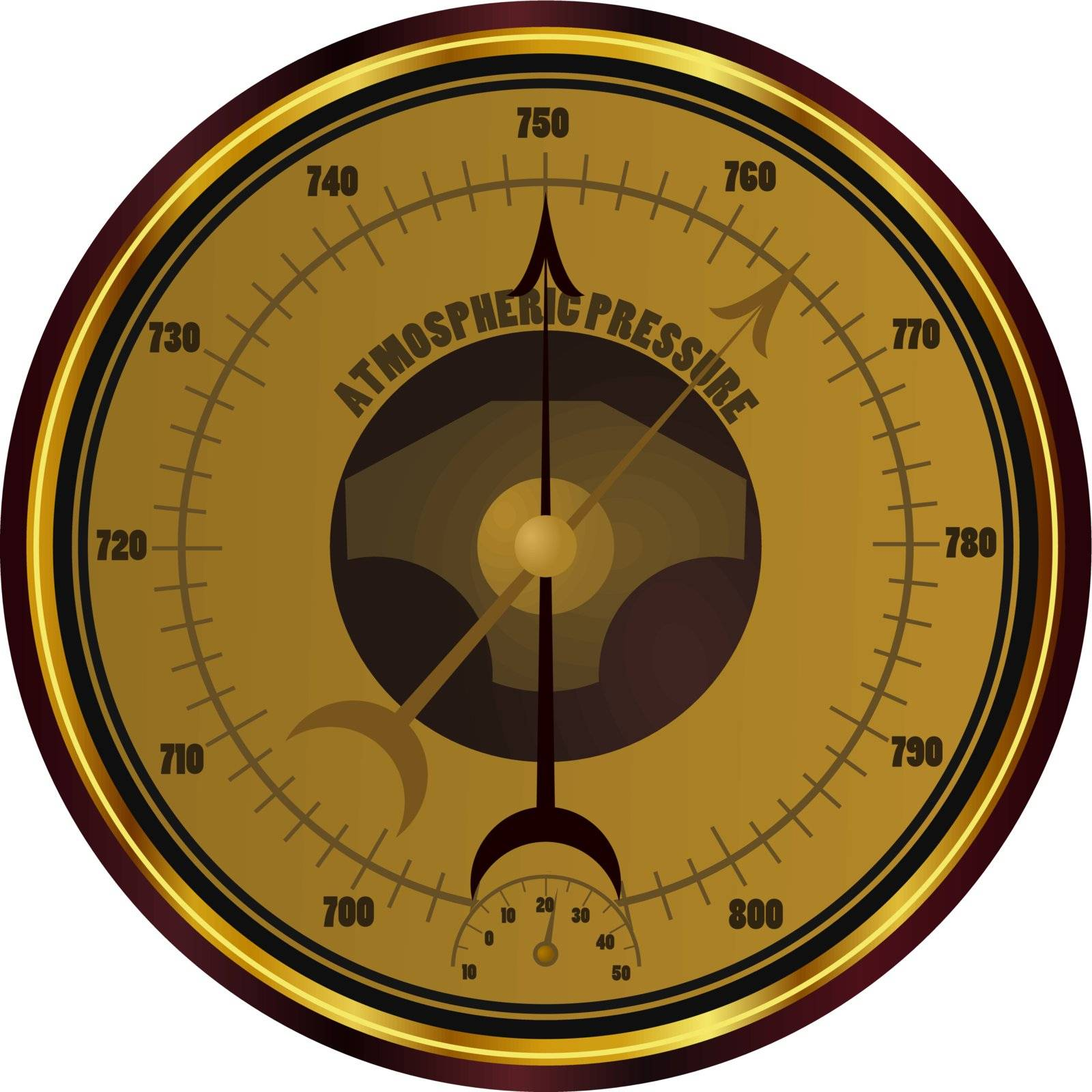 Barometer. eps10 by Larser