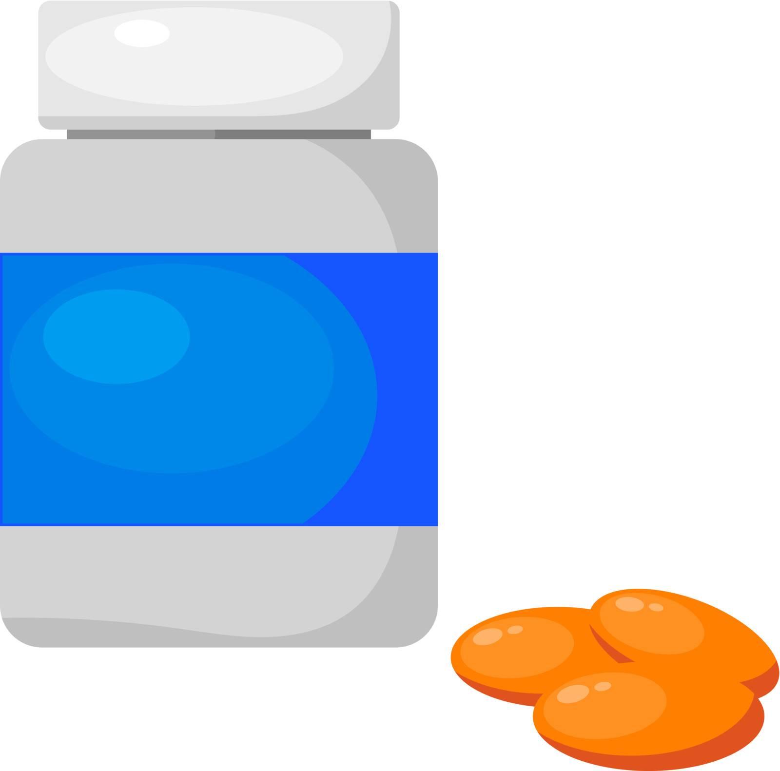 Medicine tablets. eps10
