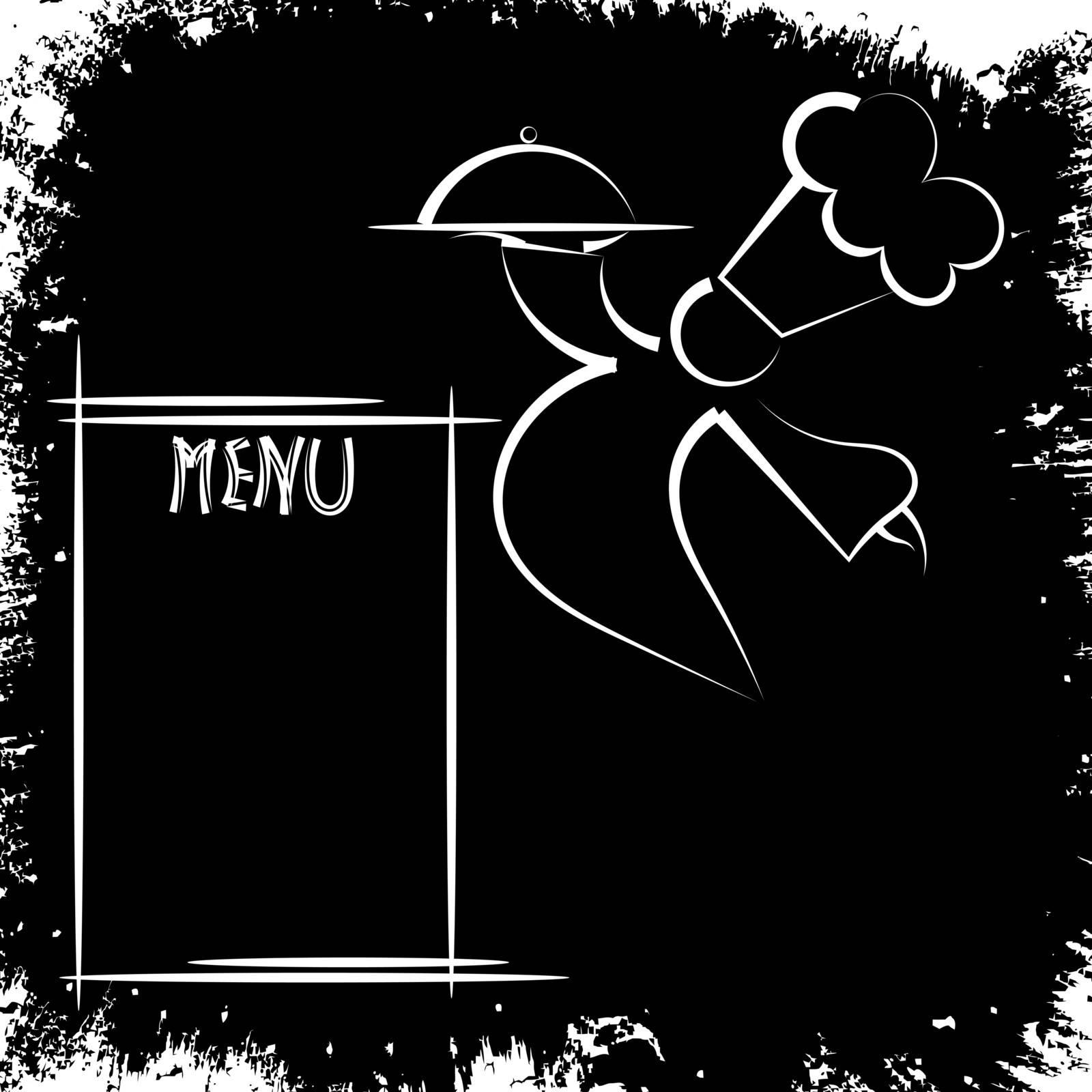 Vintage menu. eps10