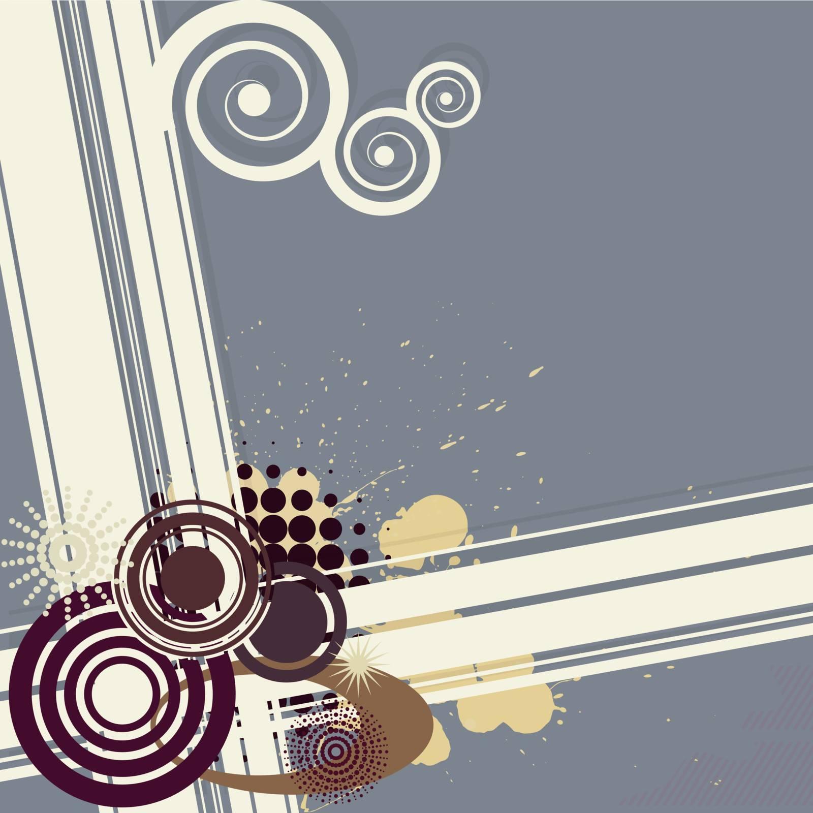 Retro background. eps10