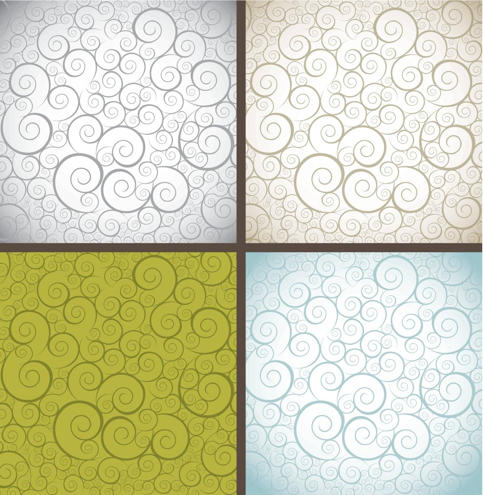 vintage and cute ornament texture backgrounds. vector illustration