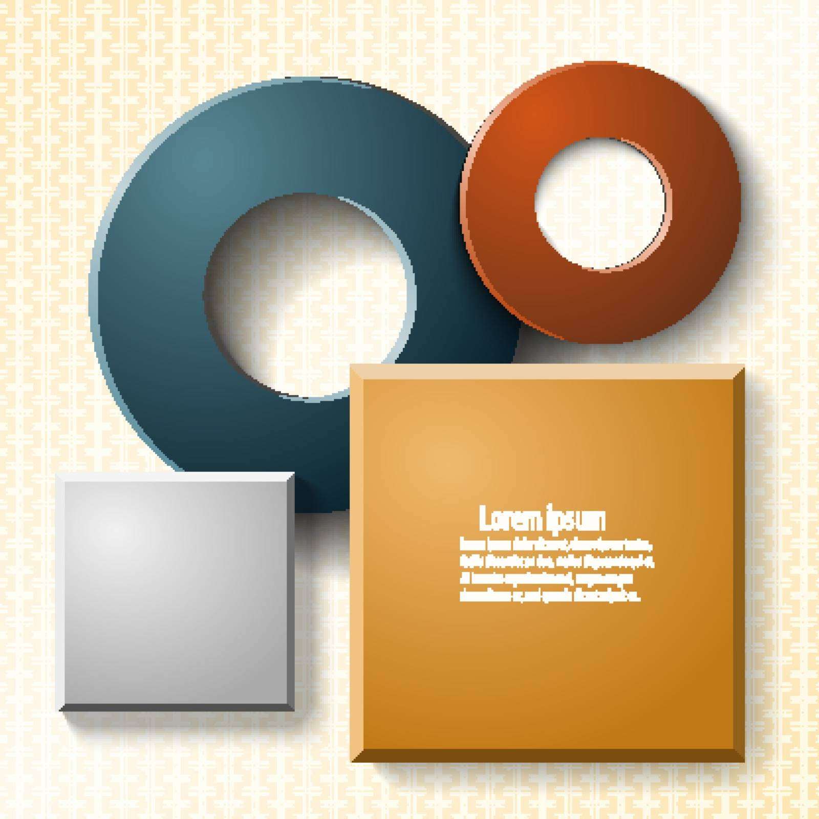 Set of elements for web design and infographics