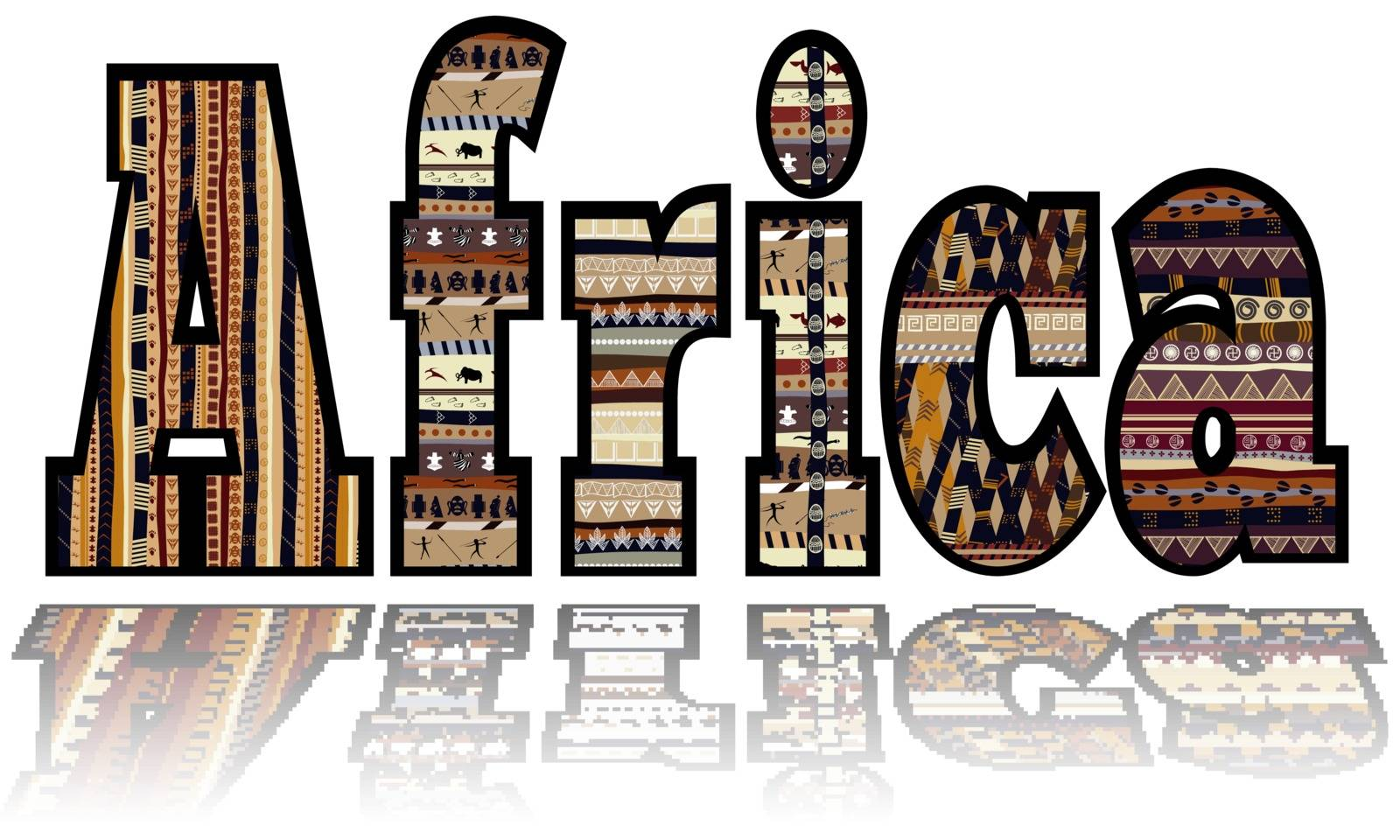 Africa with tribal elements