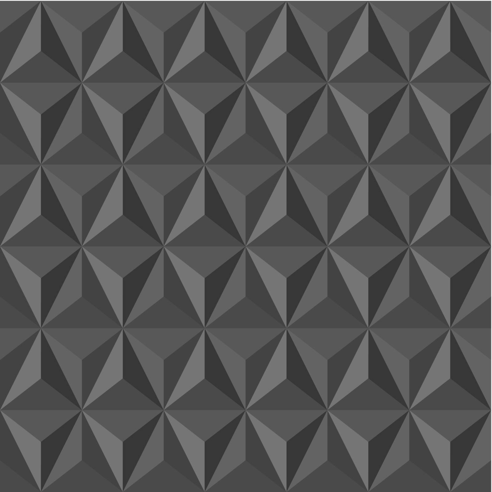 Trendy grey vintage abstract triangle seamless pattern background. Vector file layered for easy editing.
