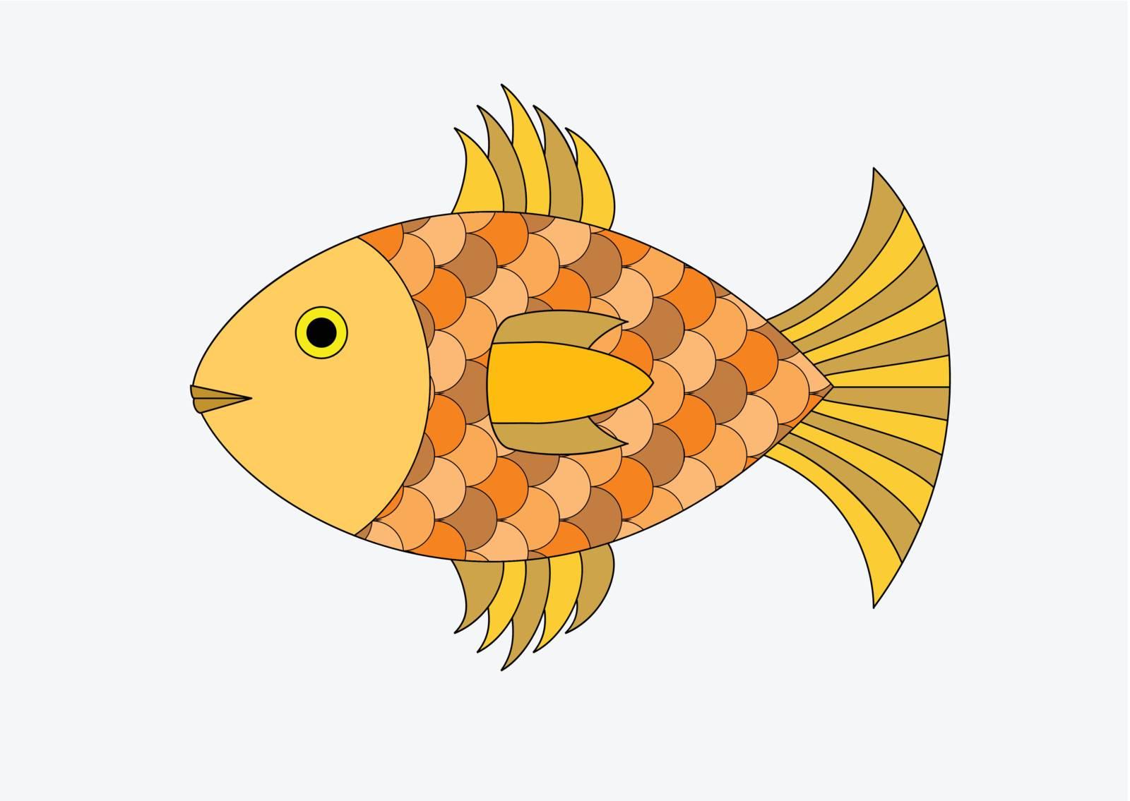goldfish by TanyaKalm