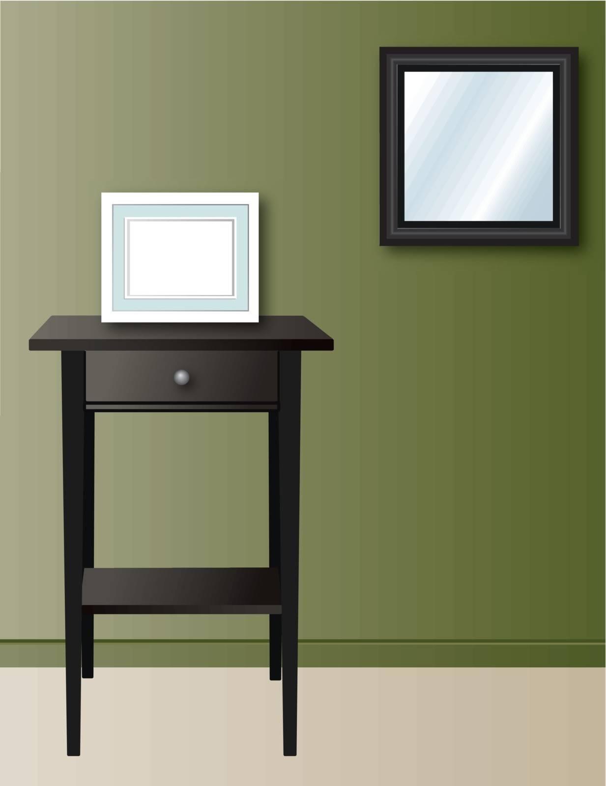 home wall decor illustration