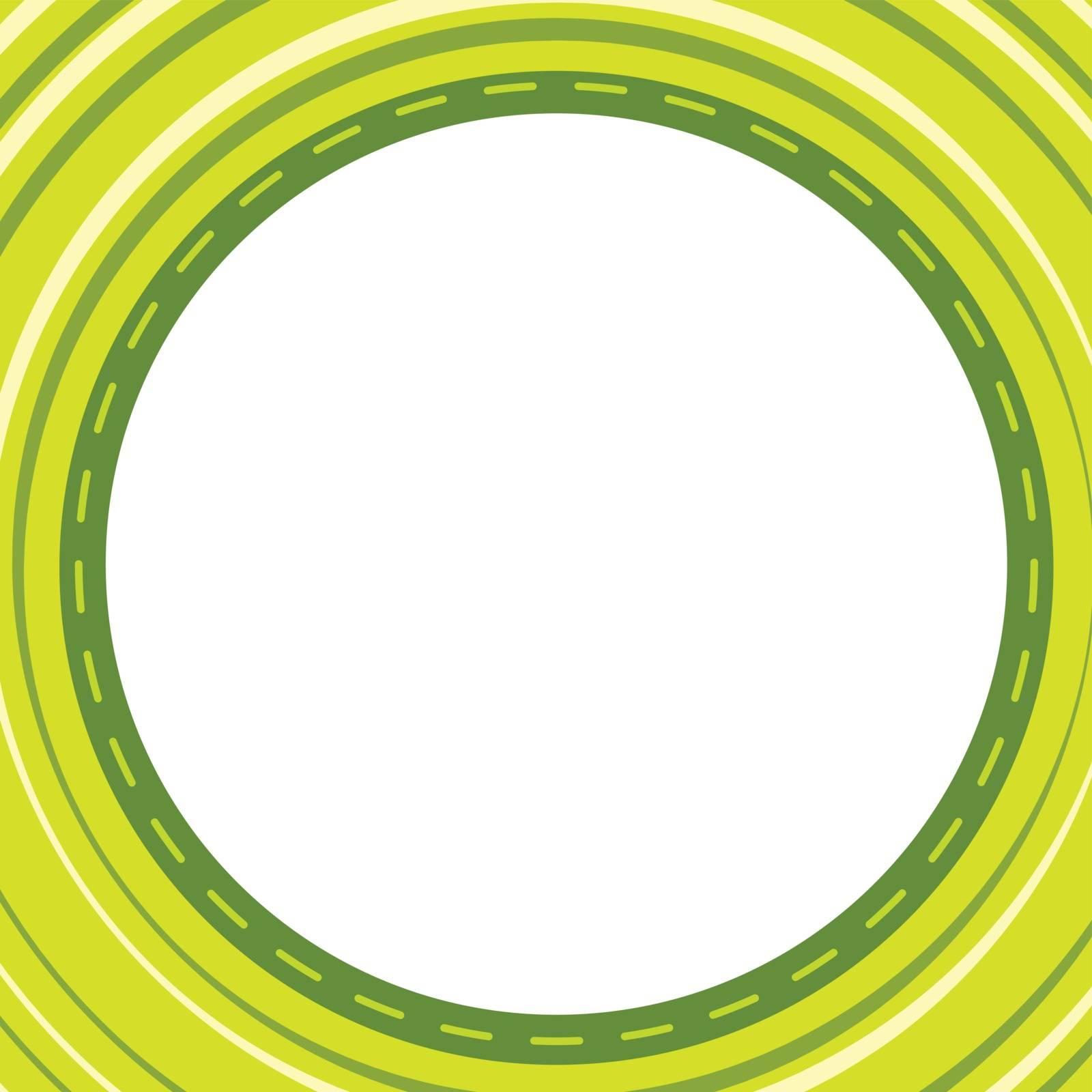 illustration of a green wallpaper