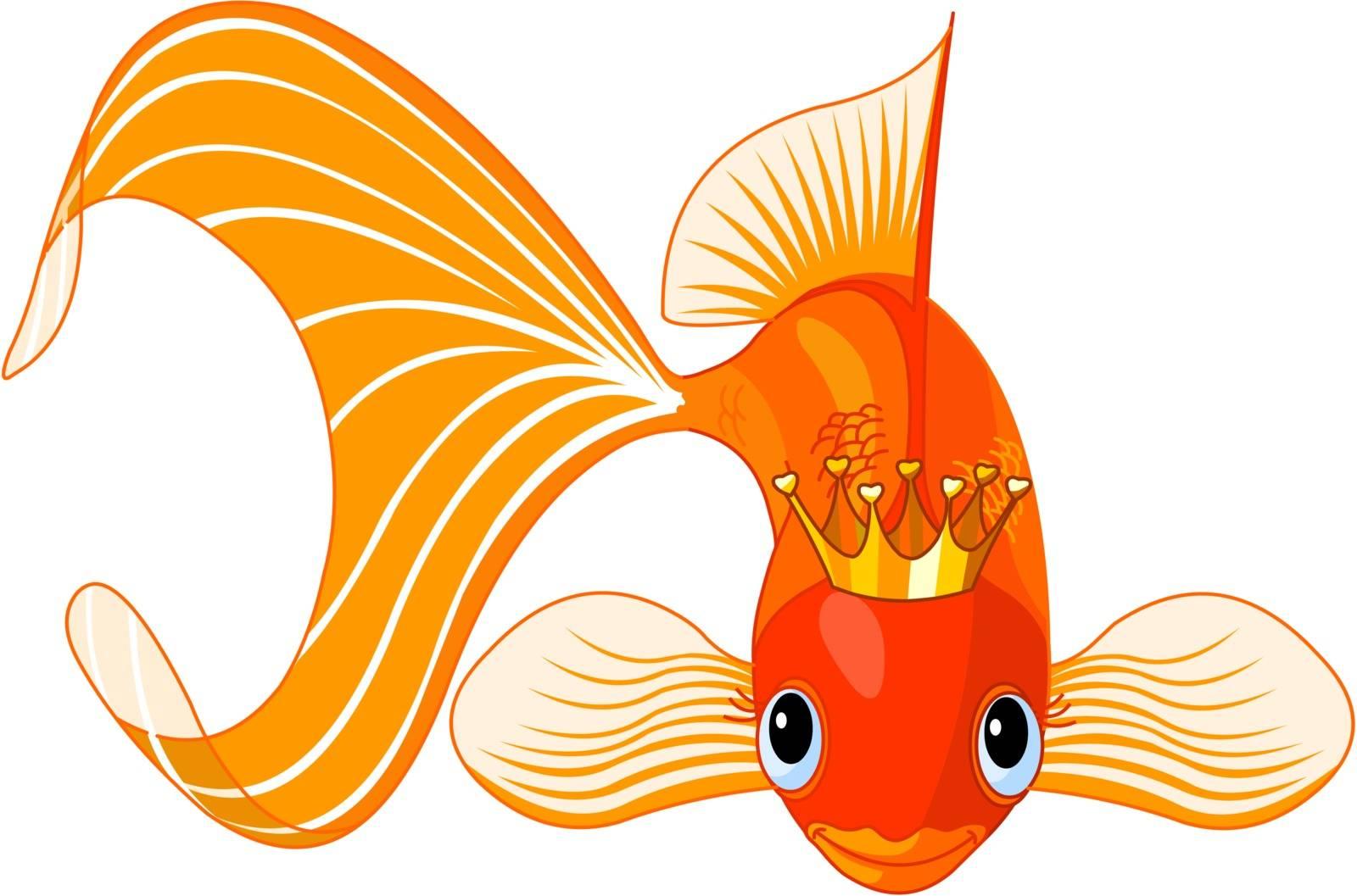 Goldfish queen by Dazdraperma