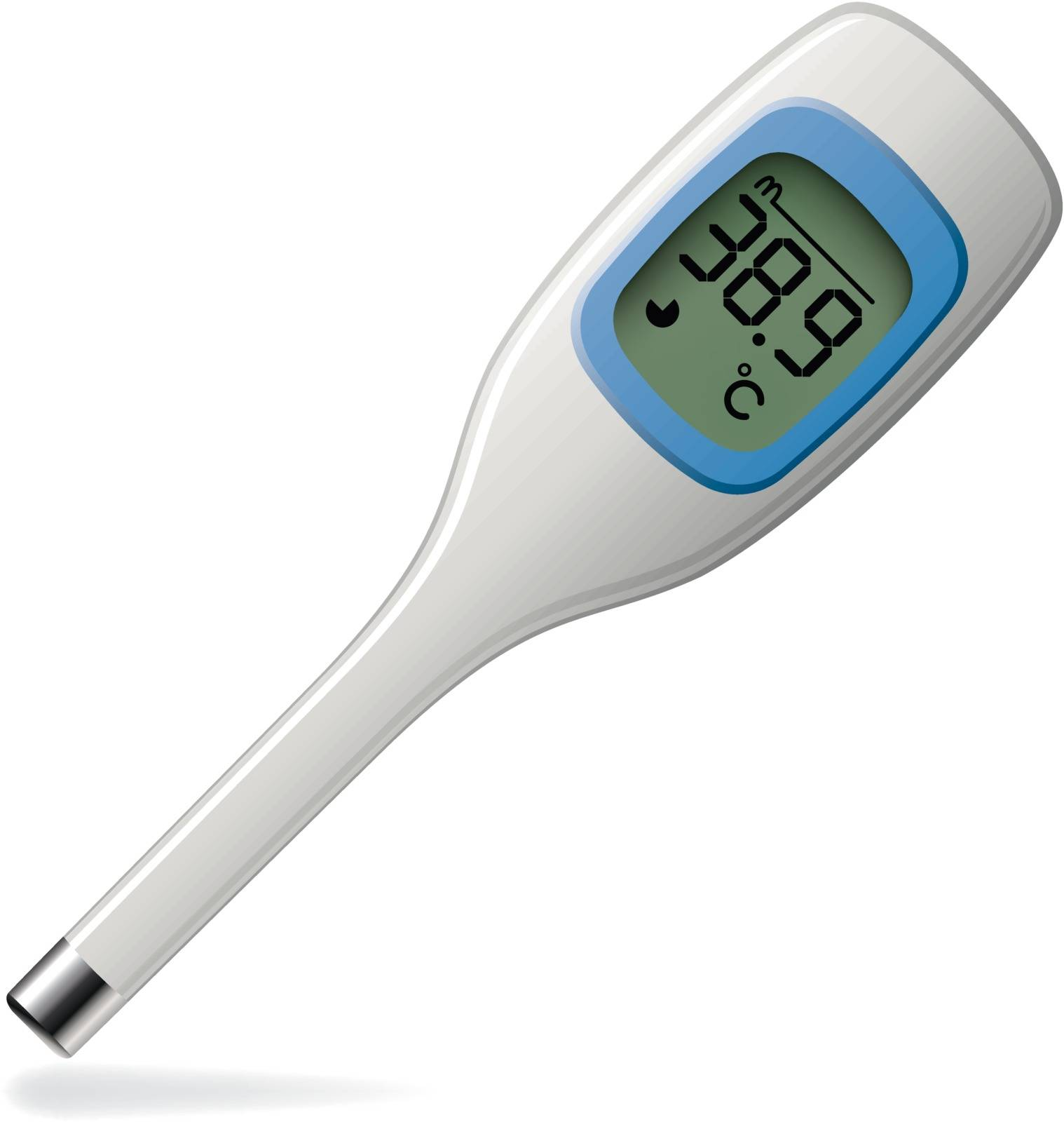 vector celsius medical electronic thermometer