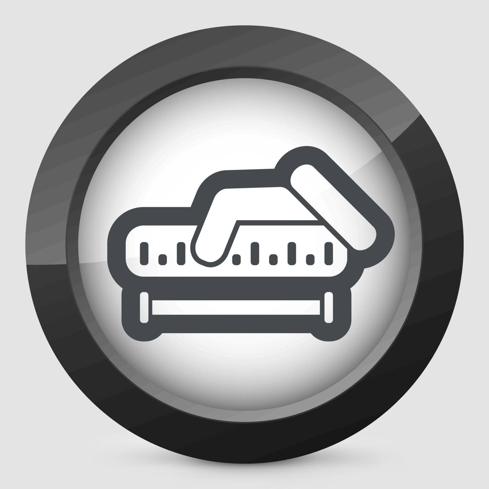 Measurement icon by myVector