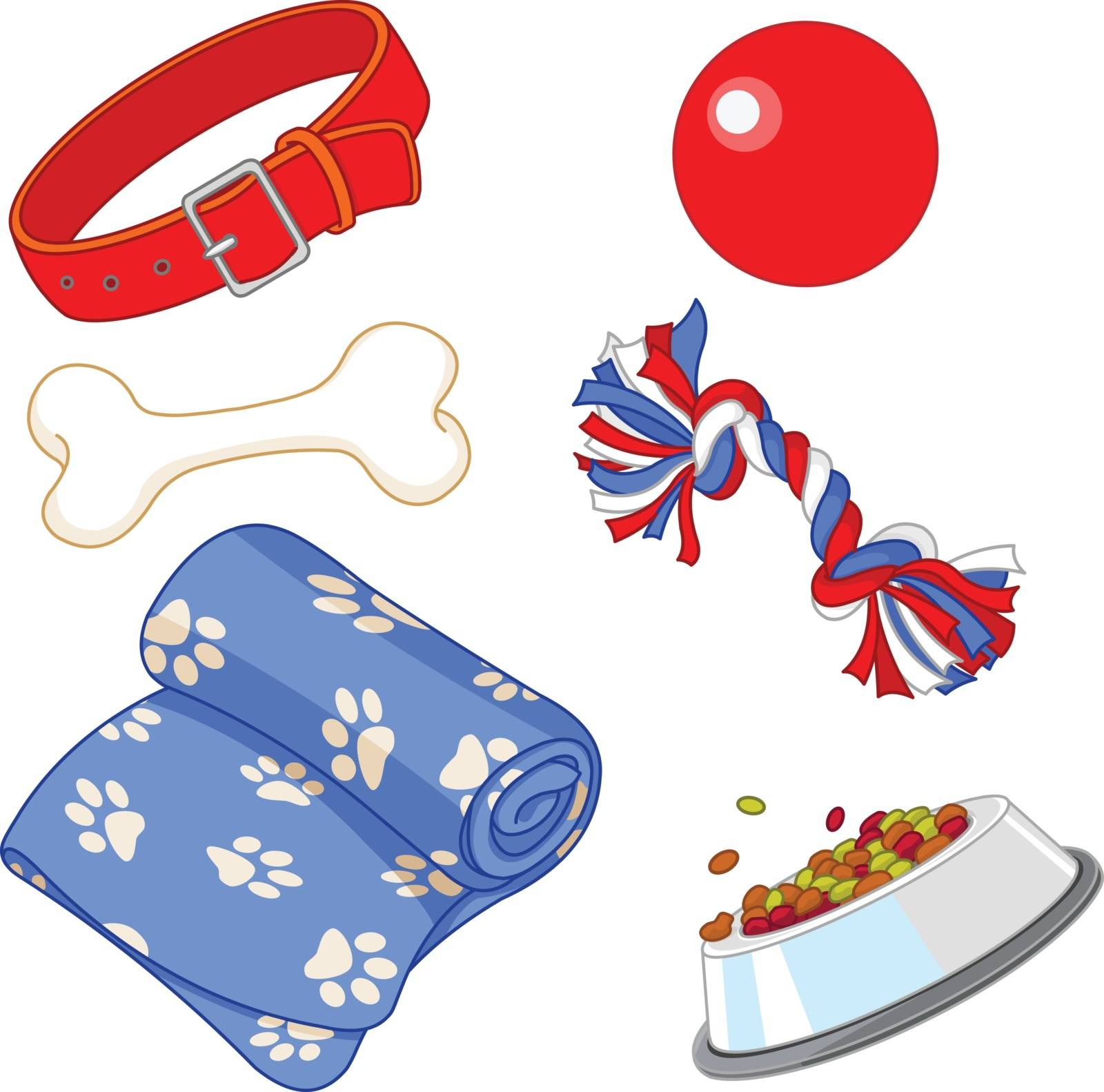 Some cute stuff for a lovely puppy