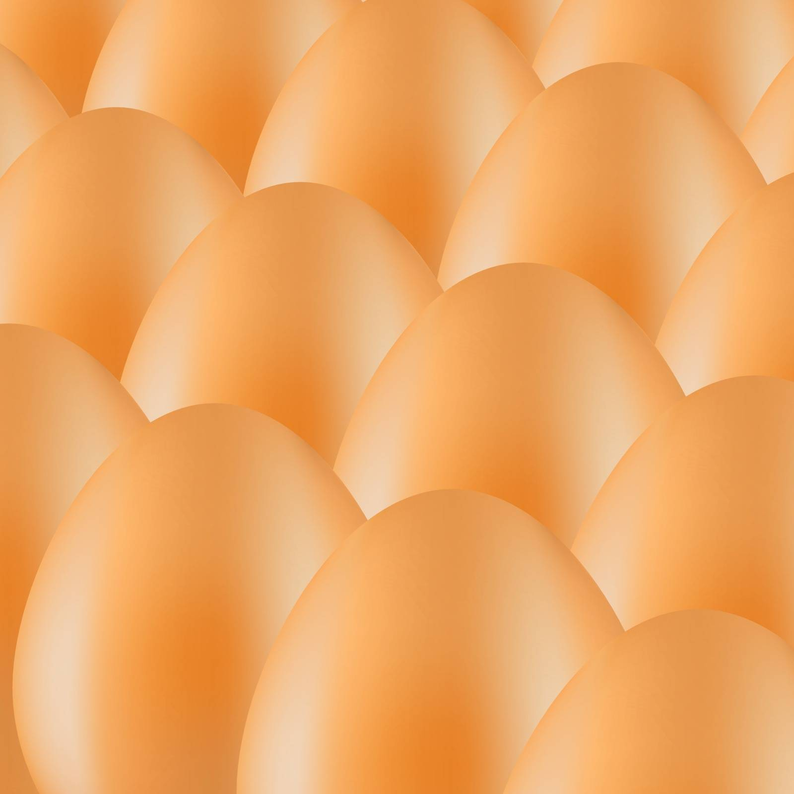 Set of Brown Organic Eggs. Eggs Background.