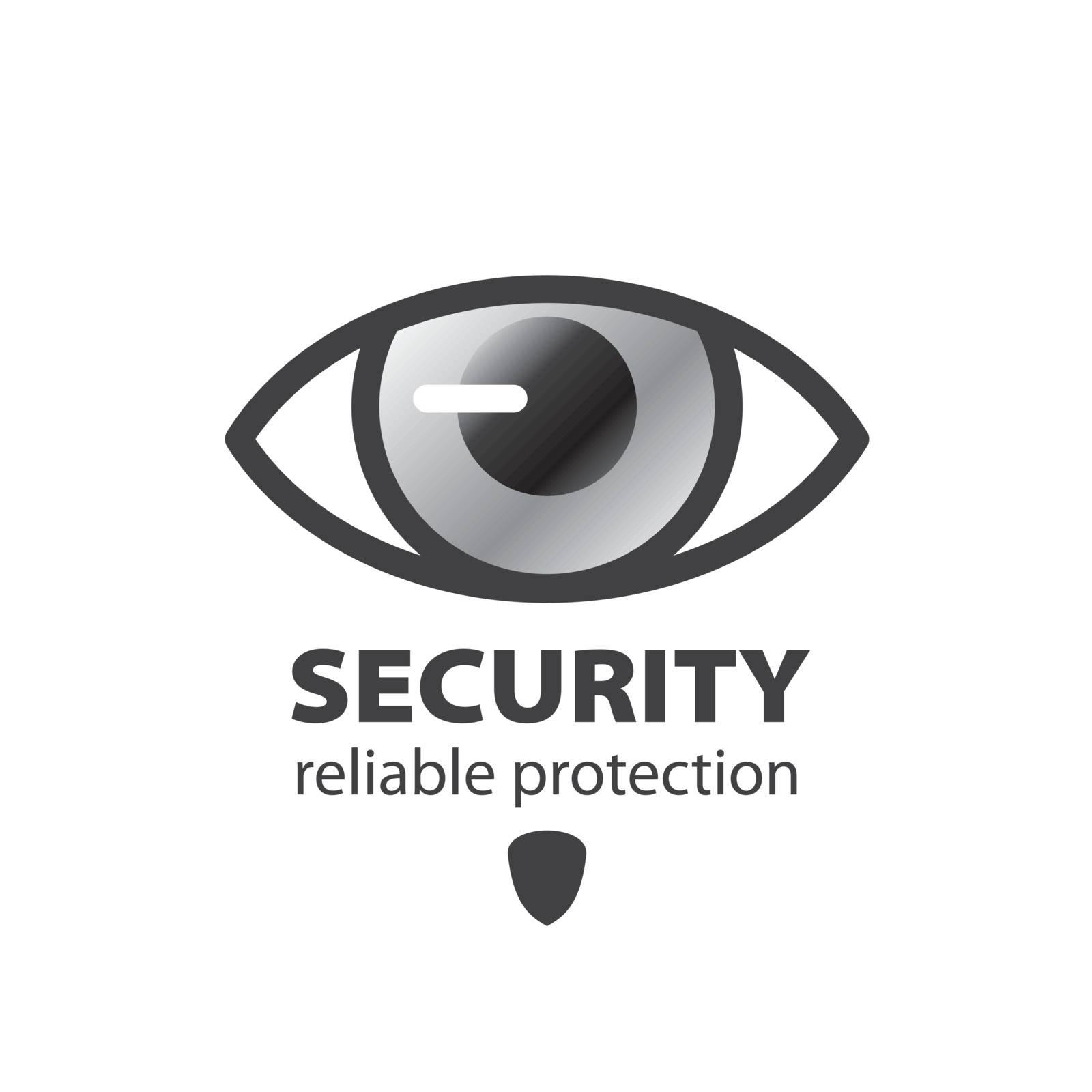 vector logo eye protection and surveillance