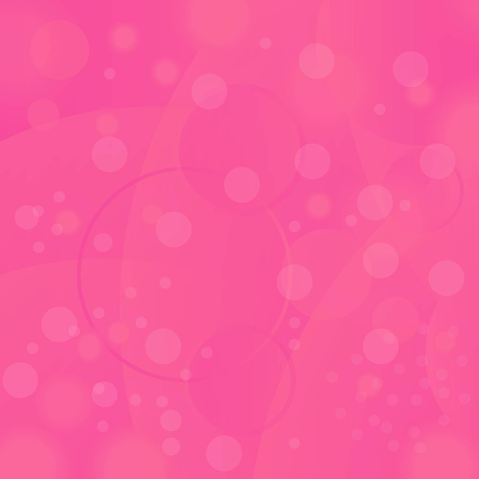 Pink Circle Background. Abstract Pink Blurred Pattern
