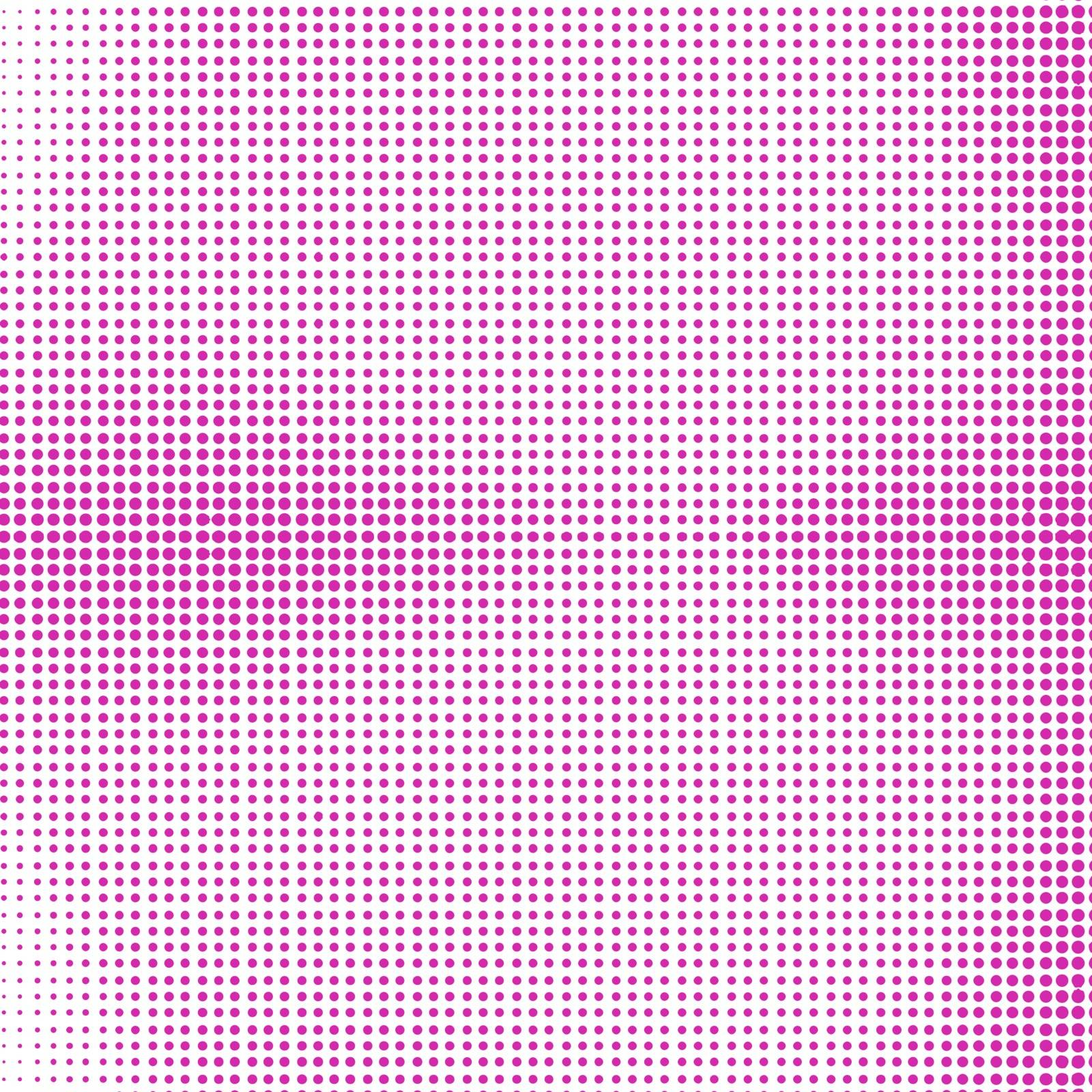 Pink Halftone Background. Pink  Dotted Halftone Pattern