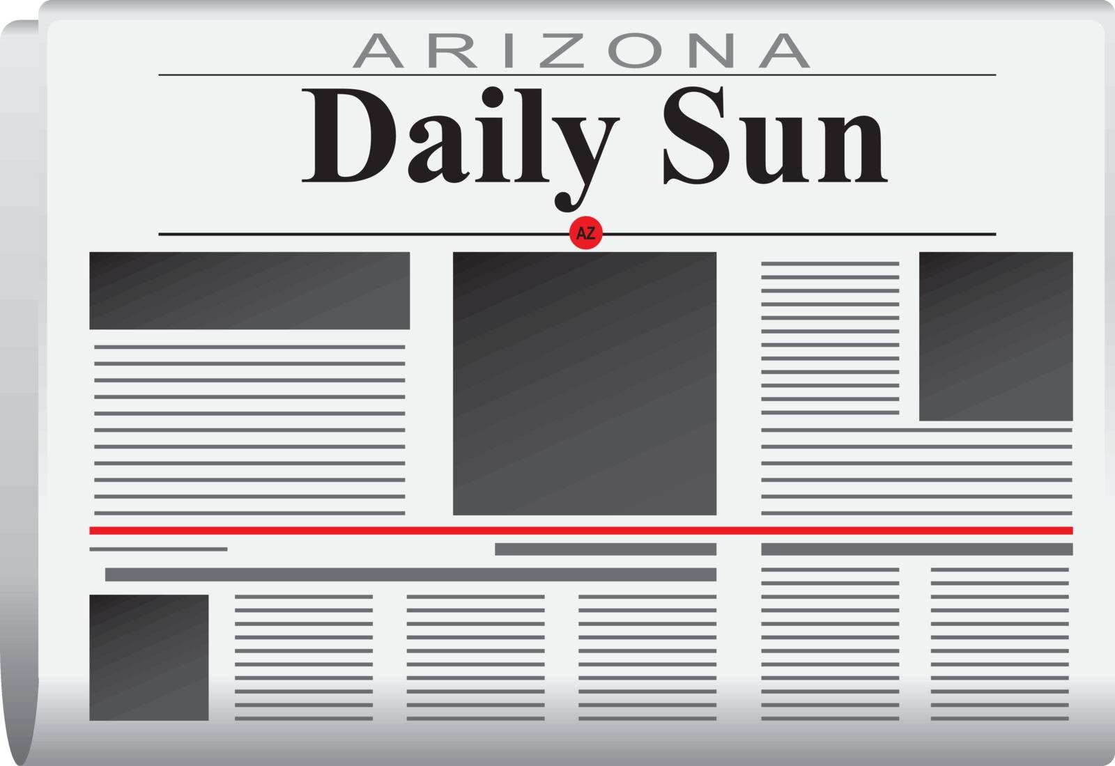 Newspaper arizona daily sun by VIPDesignUSA