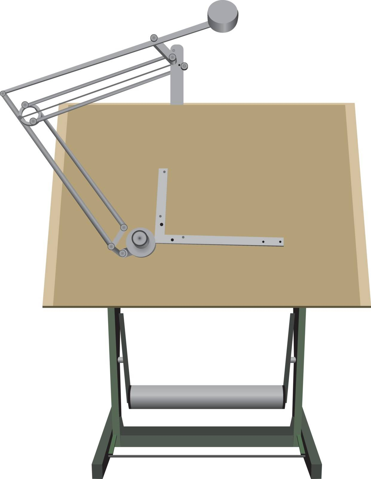 Drawing board for drawing a graphical tool for design