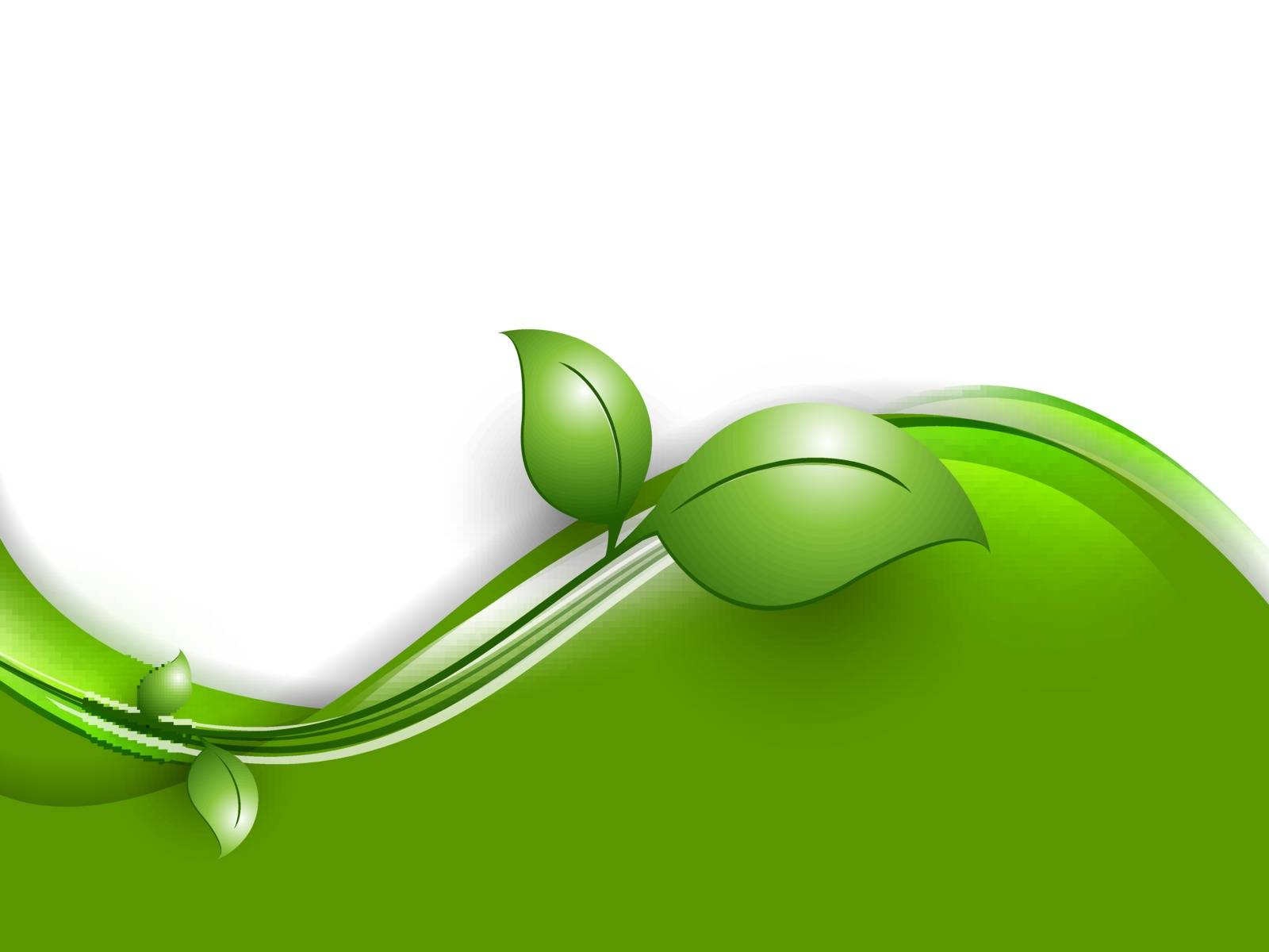 environmental vector bright background with copy space. Eps10